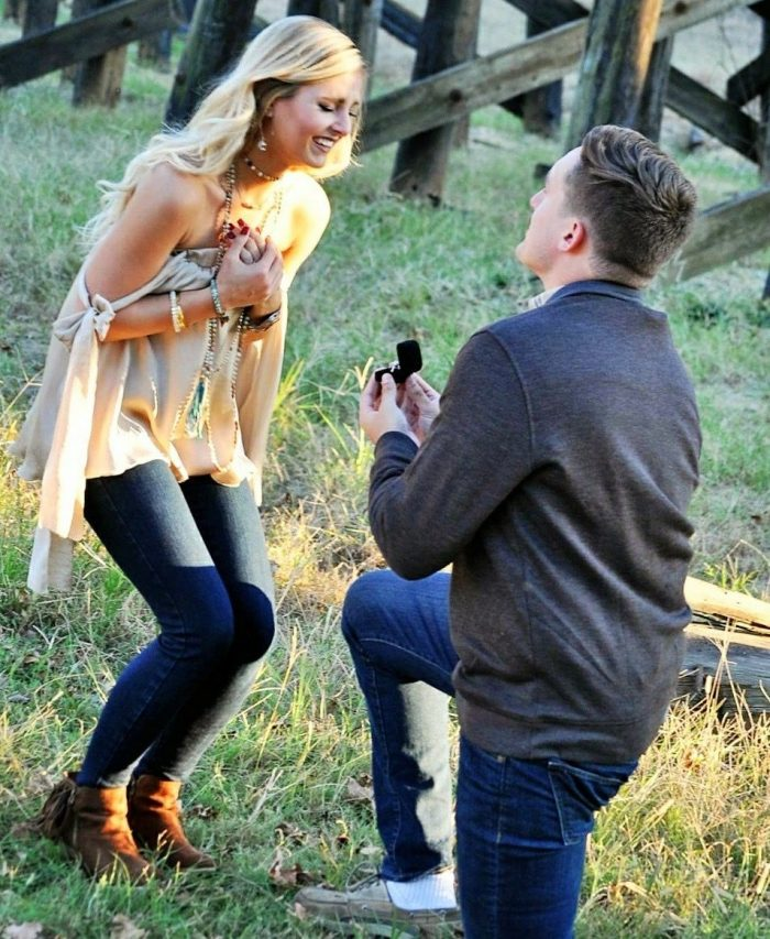 Victoria and Trey's Engagement in Tuscaloosa, AL