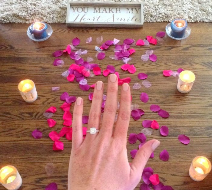 Lauren Grace's Proposal in In our Home