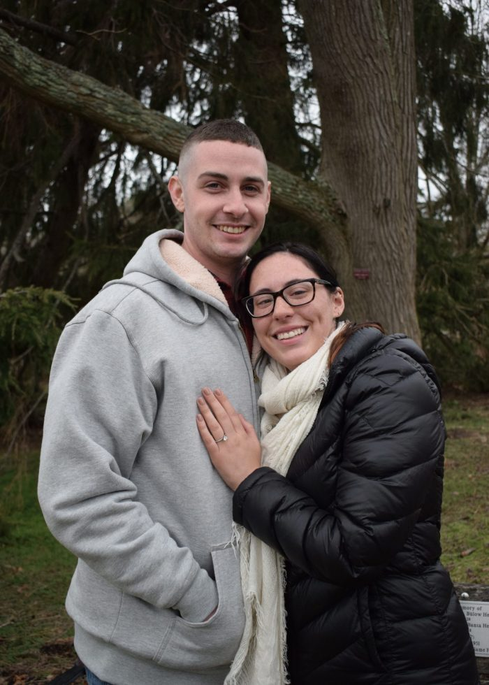 Where to Propose in Bayard Cutting Arboretum -- Great River NY
