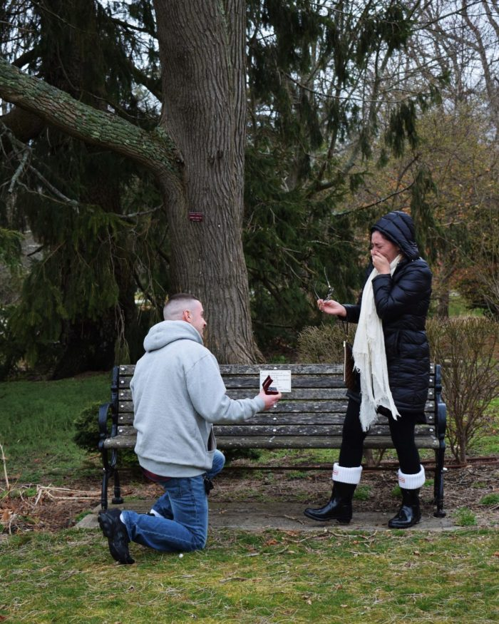Engagement Proposal Ideas in Bayard Cutting Arboretum -- Great River NY