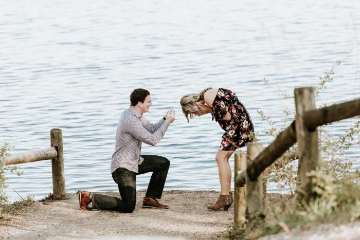Faulkner's Proposal in Radnor Lake State Park in Nashville, TN