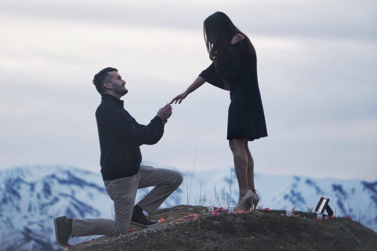 Leticia and Scotty's Engagement in Logan, UT