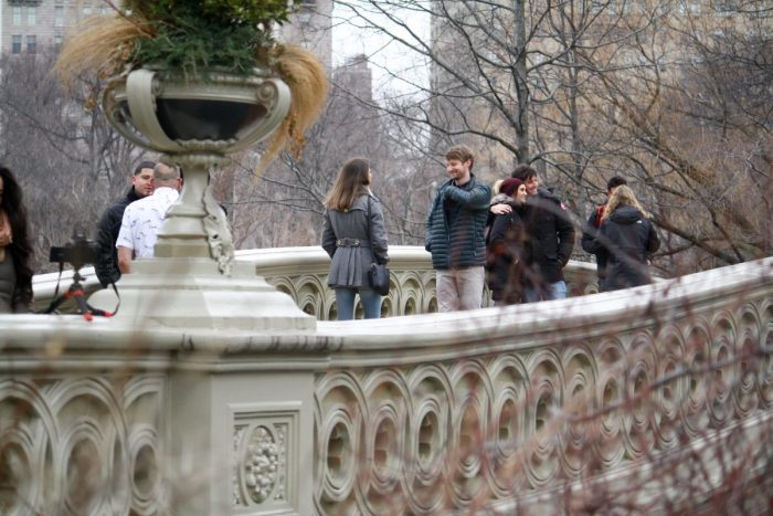 Christa and Charles's Engagement in Bow Bridge, Central Park, New York, New York