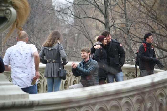 Where to Propose in Bow Bridge, Central Park, New York, New York