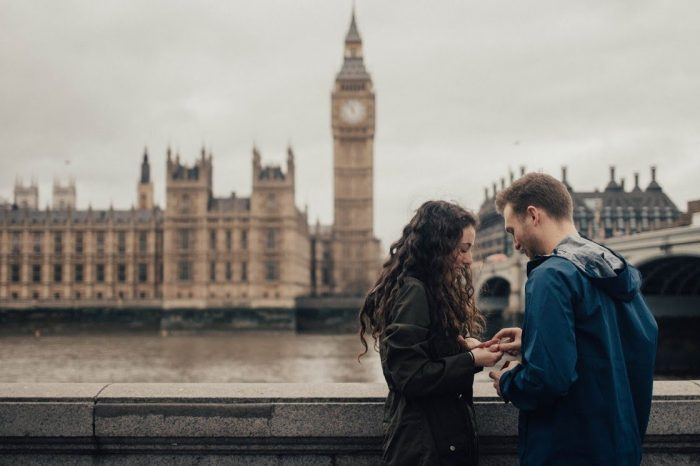 Marriage Proposal Ideas in London, England