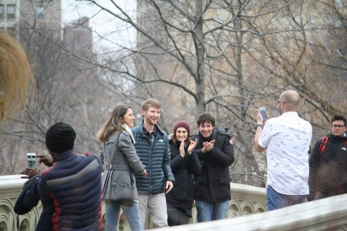 Marriage Proposal Ideas in Bow Bridge, Central Park, New York, New York