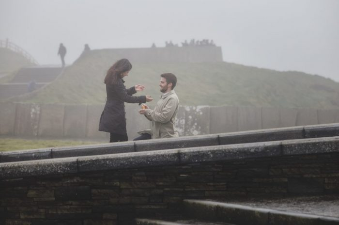 Where to Propose in Cliffs of Moher, Ireland