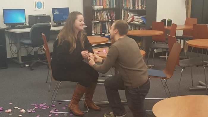 Marriage Proposal Ideas in St. Joseph's College