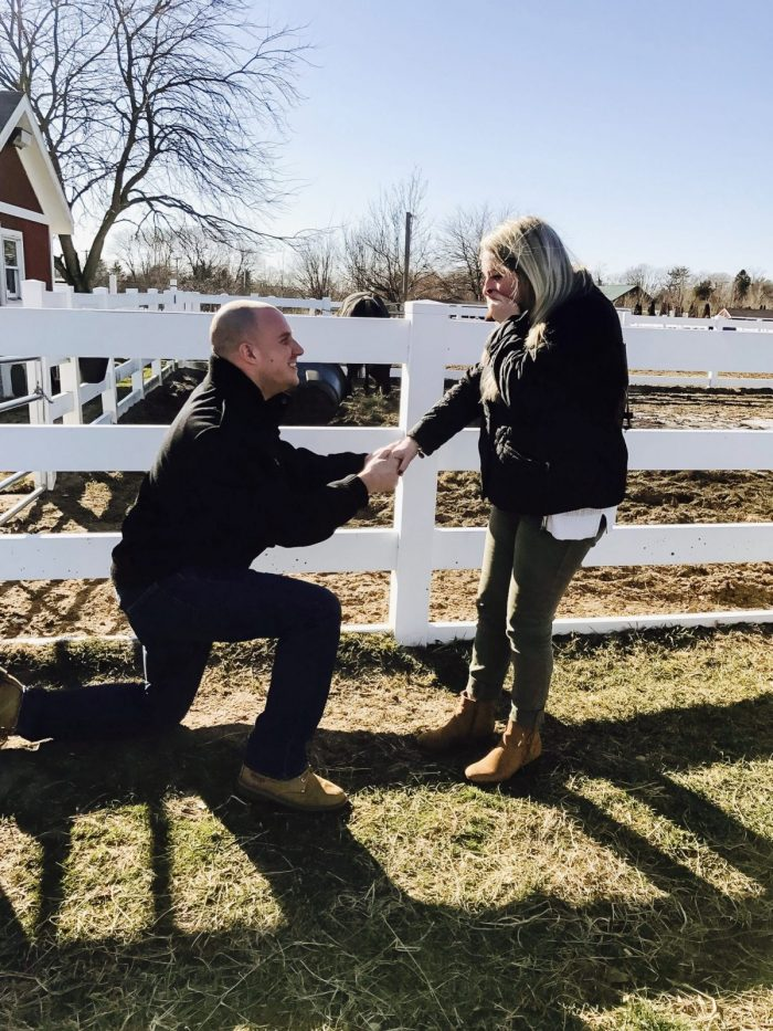 Ashlynn and Danny's Engagement in Baiting Hollow Winery, Baiting Hollow NY