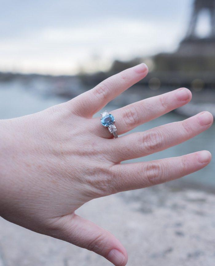 Sarah and Bill's Engagement in Paris