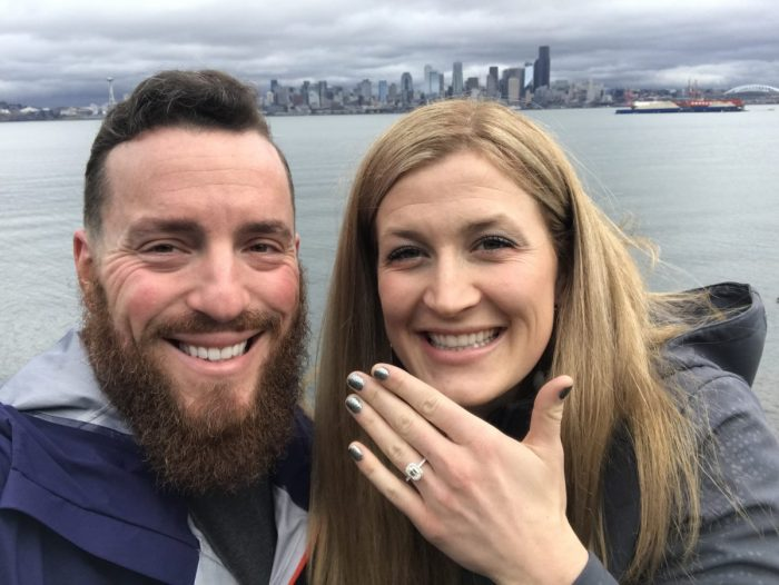 Where to Propose in Kerry Park in Queen Anne neighborhood of Seattle