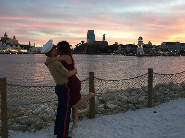 Marianela and Nicholas's Engagement in Disney's Boardwalk Resort