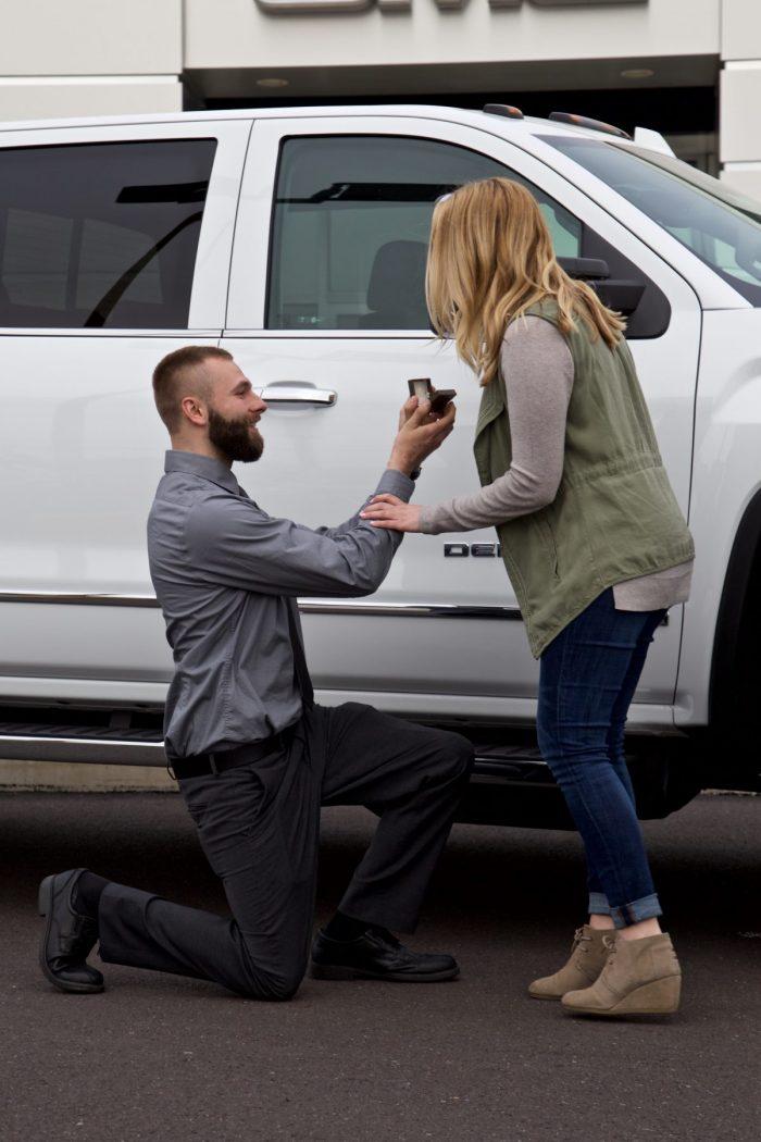 Marriage Proposal Ideas in Bergeys GMC