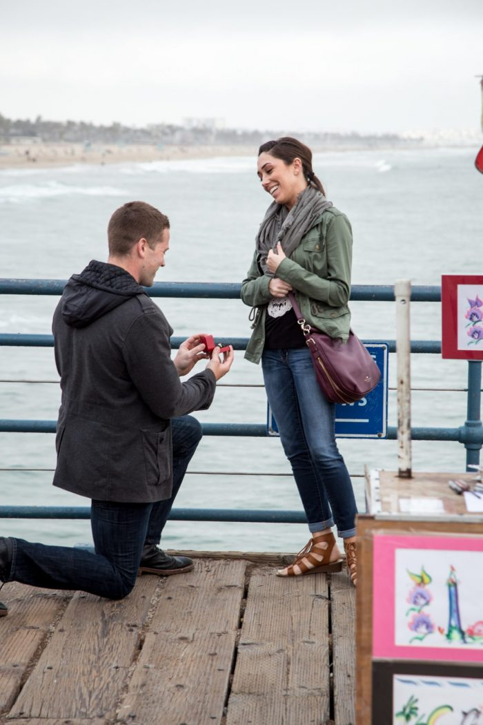 Marriage Proposal Ideas in Santa Monica, CA