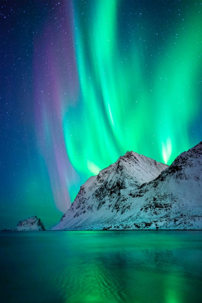 Image 2 of Photographer Captures His Own Northern Lights Proposal – and The Photo is Insane.