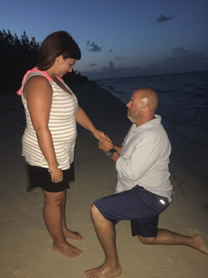 Marriage Proposal Ideas in Somerset Beach on Andros Island in the Bahamas