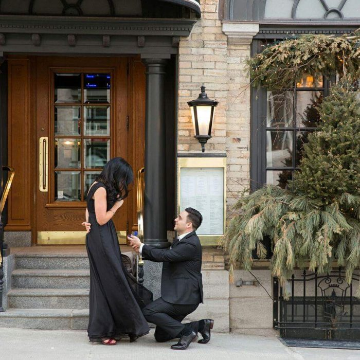 Wedding Proposal Ideas in Old Quebec City, Canada