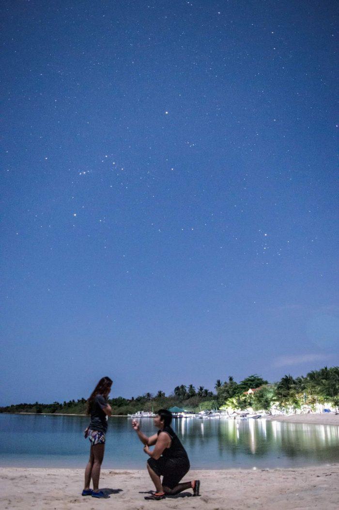Wedding Proposal Ideas in Magalawa Island, Zambales, Philippines