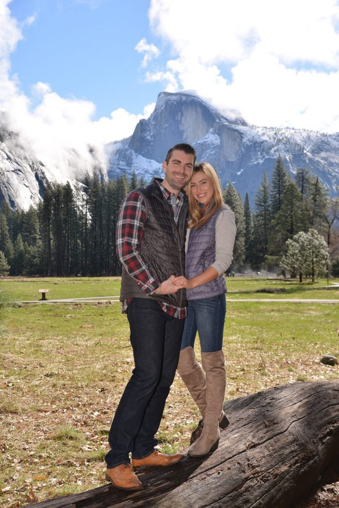 Wedding Proposal Ideas in Yosemite National Park
