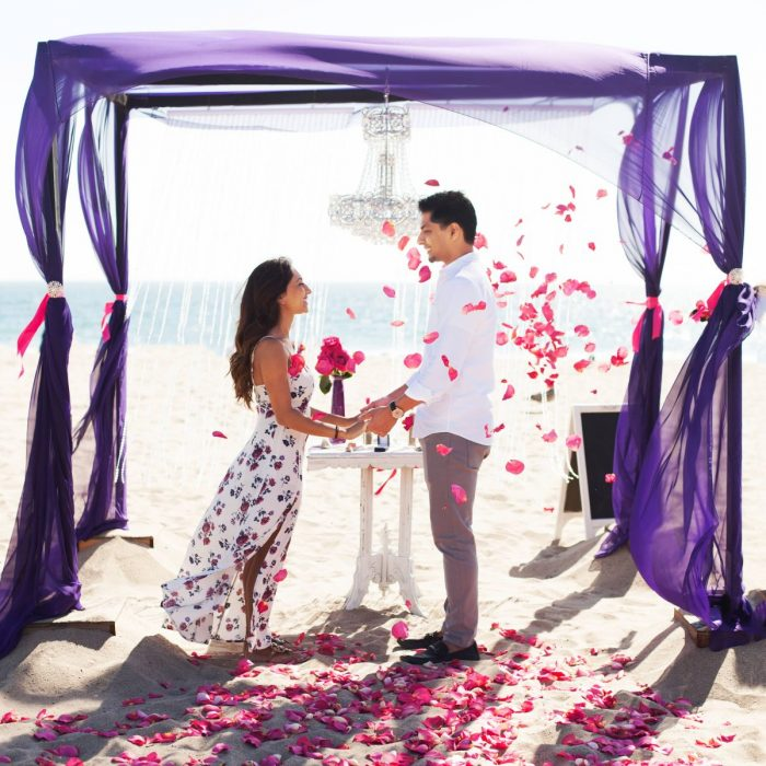 Marriage Proposal Ideas in Santa Monica Beach