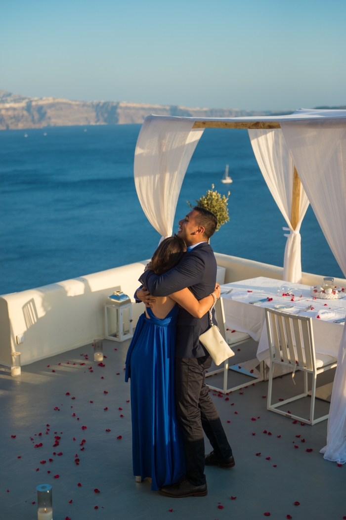 Proposal Ideas Santorini, Greece