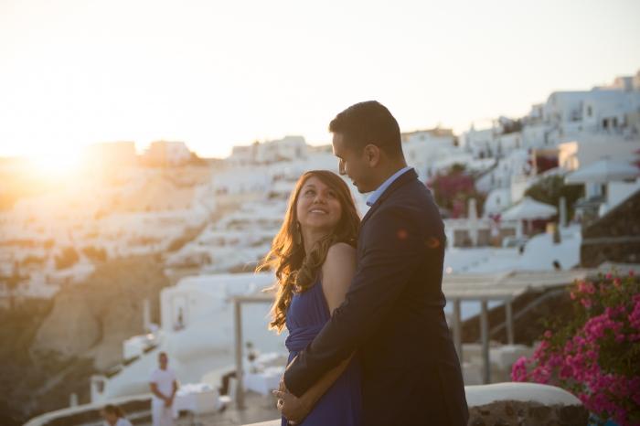 Wedding Proposal Ideas in Santorini, Greece