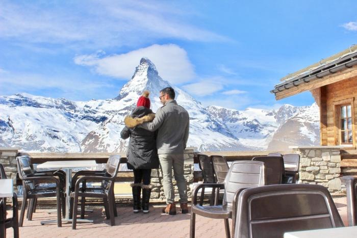 Where to Propose in The Matterhorn in Zermatt, Switzerland