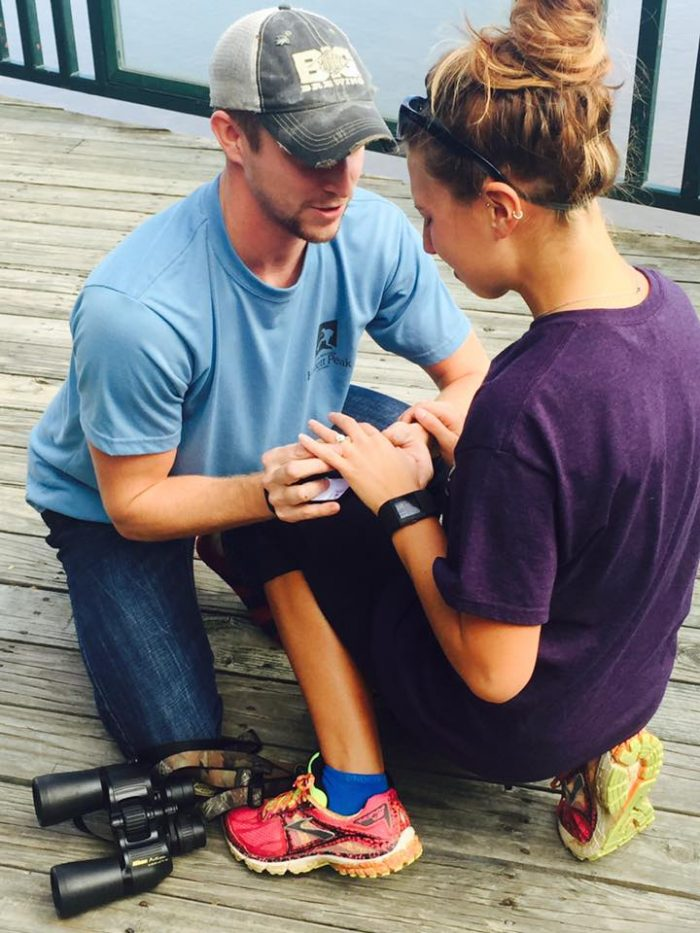 Bailey and Kyle's Engagement in Trail of Tears State Park