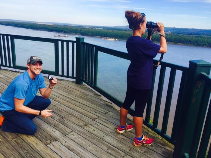 Bailey's Proposal in Trail of Tears State Park