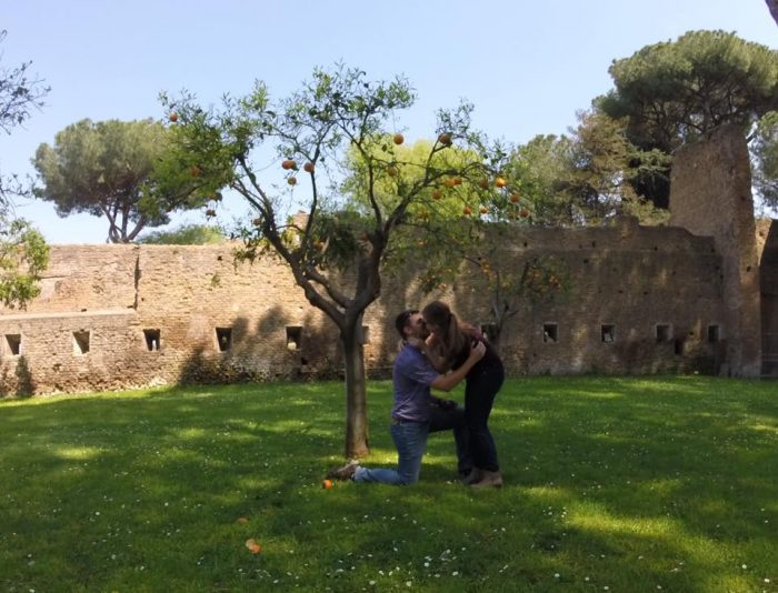 Marriage Proposal Ideas in Rome, Italy