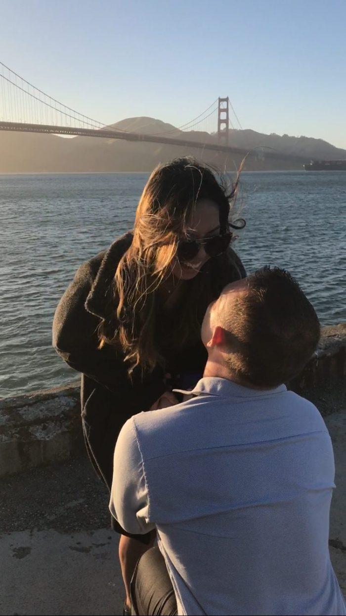Wedding Proposal Ideas in Golden Gate Bridge