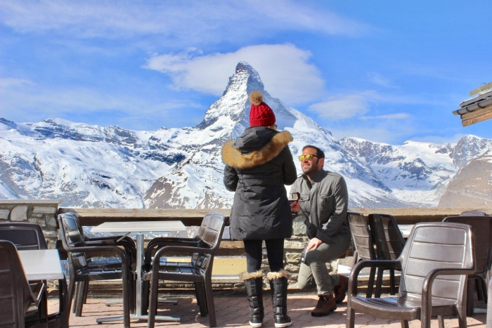 Wedding Proposal Ideas in The Matterhorn in Zermatt, Switzerland