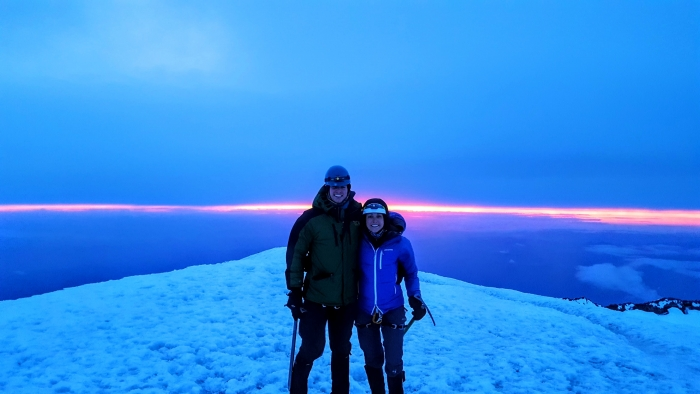 Wedding Proposal Ideas in Below the summit of Mount Marcy