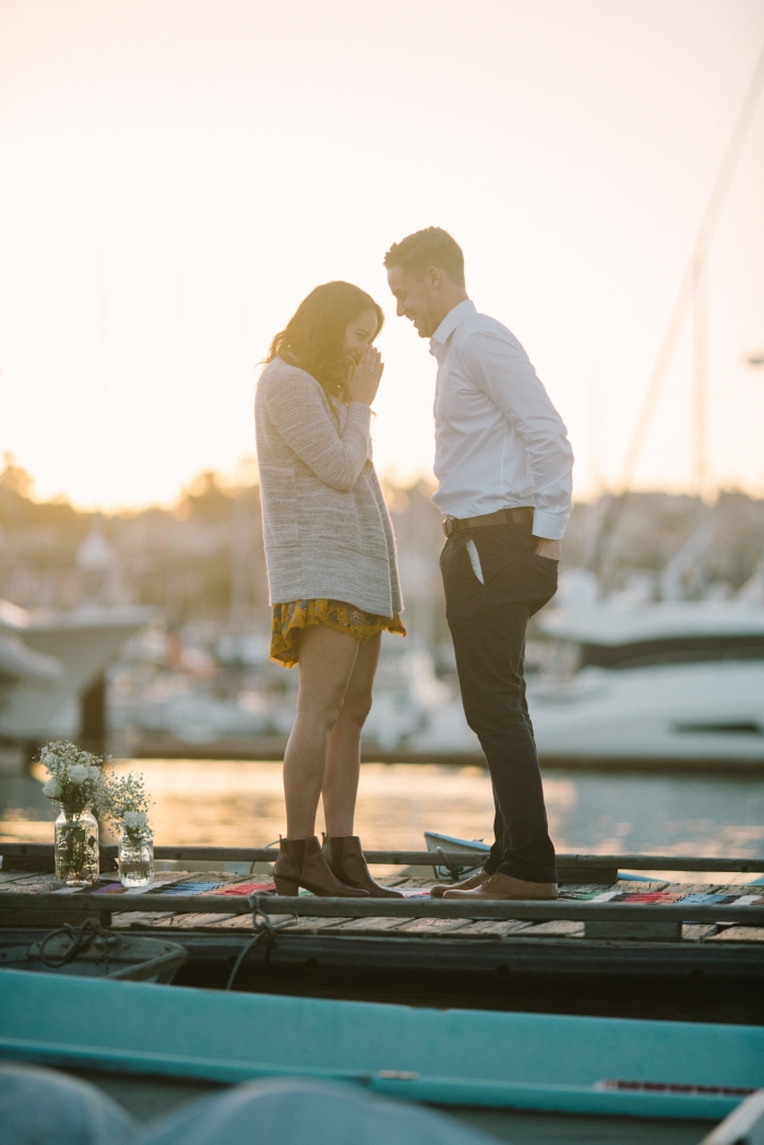 Dottie's Proposal in Shelter Island, San Diego Harbor
