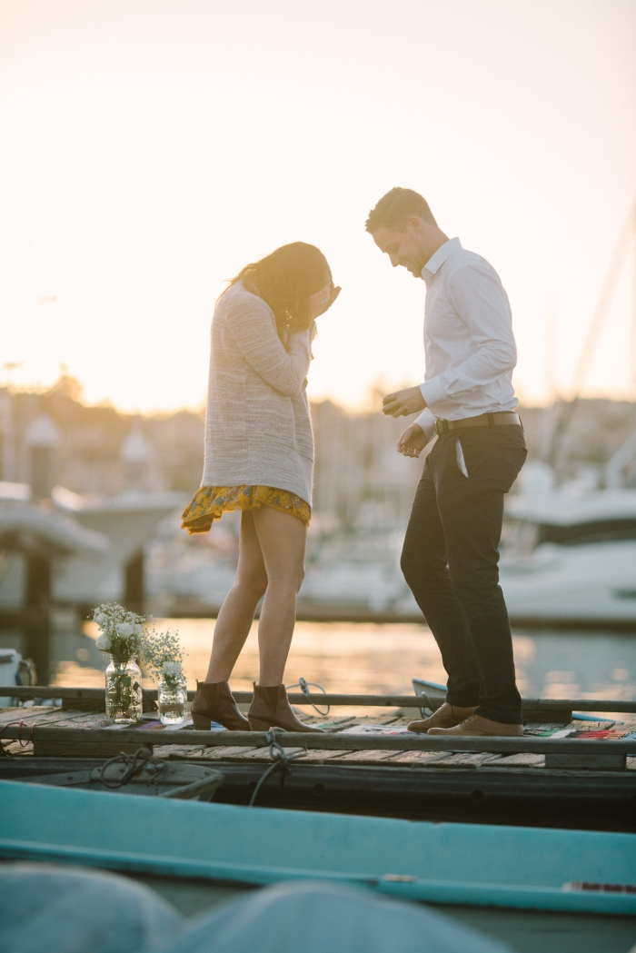 Where to Propose in Shelter Island, San Diego Harbor
