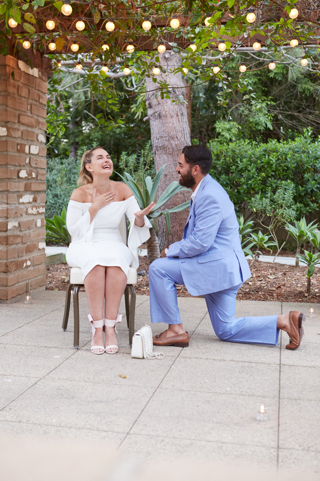 Lauren's Proposal in Estancia La Jolla, San Diego, CA