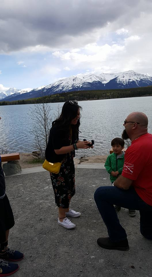 Engagement Proposal Ideas in Jasper National Park, Alberta, Canada