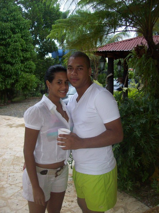Engagement Proposal Ideas in Swimming Pool Club Naco Dominican Republic