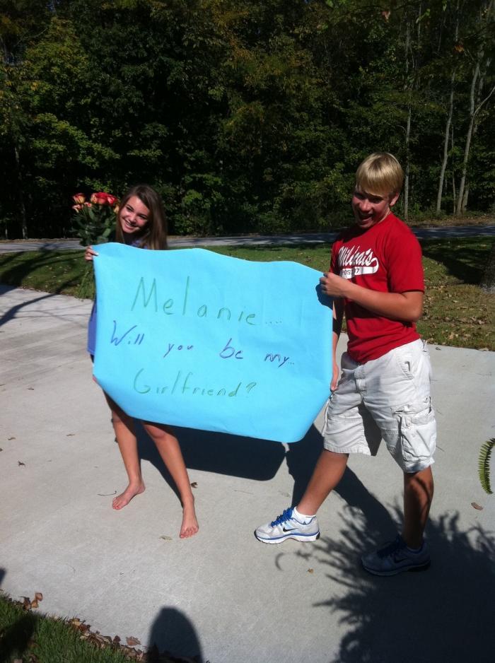 Melanie and James's Engagement in Huntsville, AL
