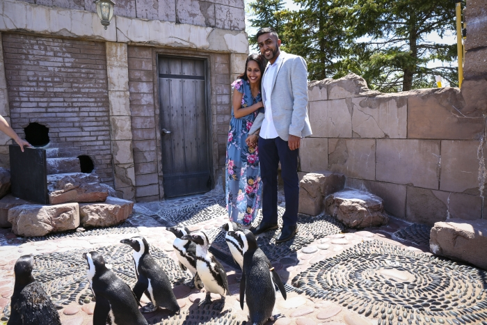 Jaimee and AJ's Engagement in Long Island Aquarium