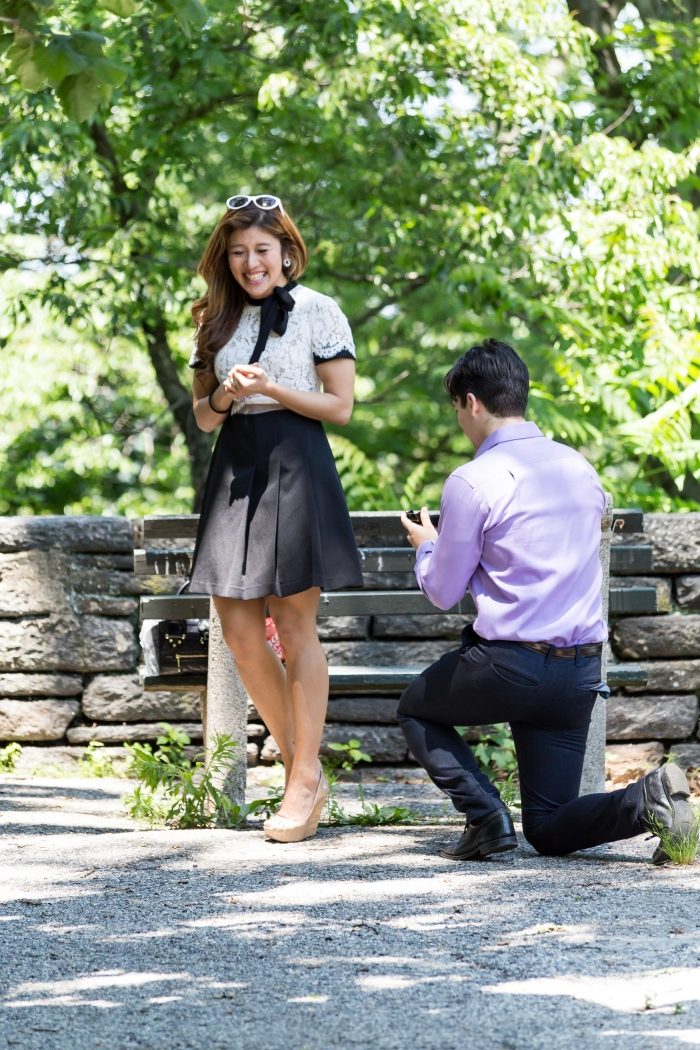 Engagement Proposal Ideas in The Met Cloisters in New York