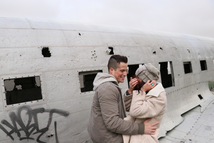 Rachael's Proposal in Iceland