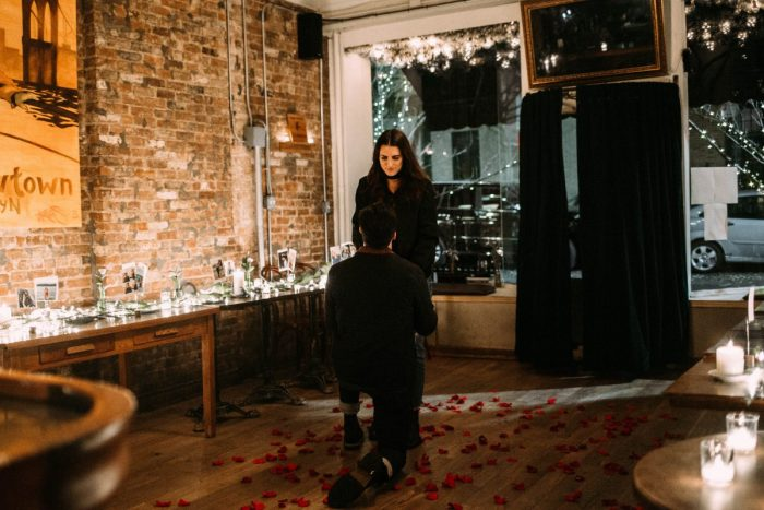 Where to Propose in Iris Cafe