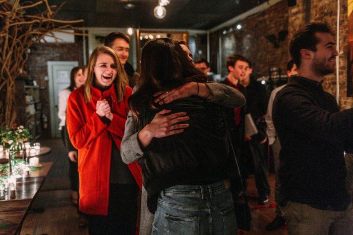 Alexandra's Proposal in Iris Cafe