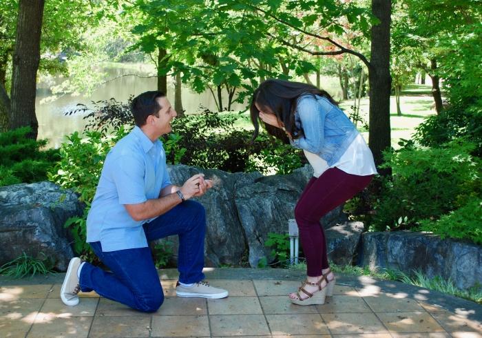 Wedding Proposal Ideas in Ironstone Vineyards in Murphys, California
