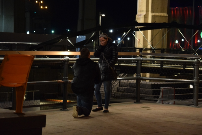 Engagement Proposal Ideas in Canalside, Buffalo New York