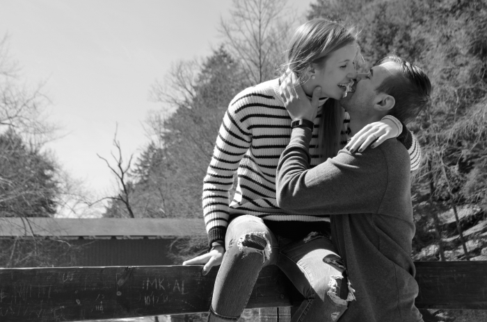 Marriage Proposal Ideas in McConnell's Mill State Park