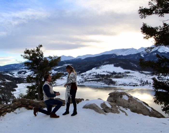 Wedding Proposal Ideas in Breckenridge, CO
