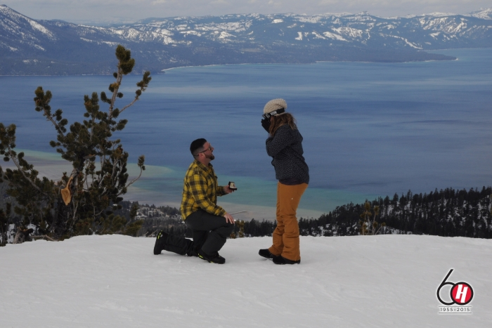 Wedding Proposal Ideas in Heavenly Mountain, Lake Tahoe CA