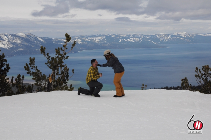 Proposal Ideas Heavenly Mountain, Lake Tahoe CA